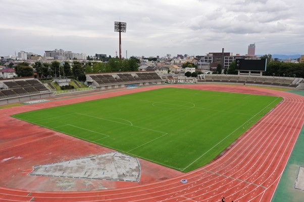 正田醤油スタジアムの全体写真
